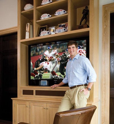 Eli Manning's House Is Fully Automated; Kind Of Lame