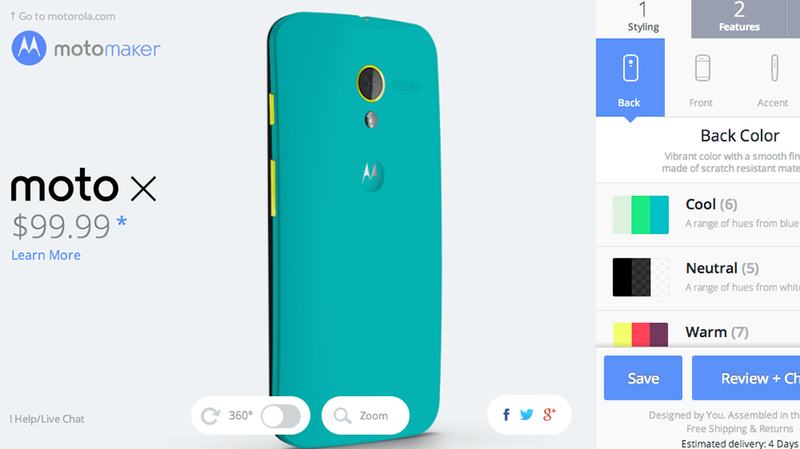 You Can Get a Fully Customized Moto X For $100 Now