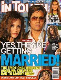 This Week In Tabloids: Britney & Katie Knocked Up, Brangelina To Wed
