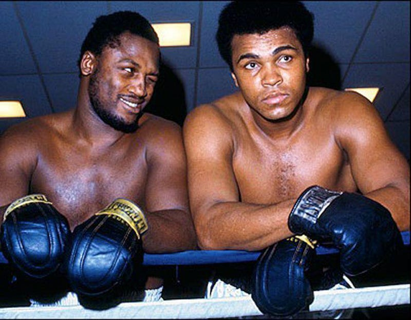 "George Foreman Says Frazier And Ali ""Genuinely Loved Each Other"""