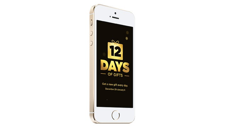Apple's 12 Days of iOS Gifts Comes to the US This Year