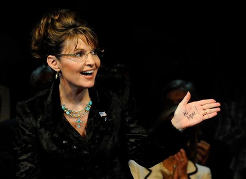 Former Spokeswoman Admits To Being Unable To Control Palin's Message
