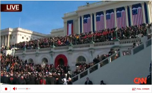 Catch the Inauguration from Your Desk