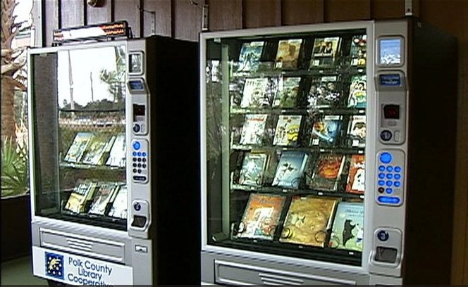 Book lending vending machines are the libraries of tomorrow