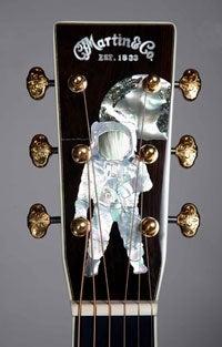"Martin's ""History of Flight"" Guitar Costs $150,000, Ranks Among World's Ugliest"