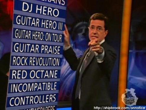 Harmonix Crew Appearing On Colbert Report Tonight