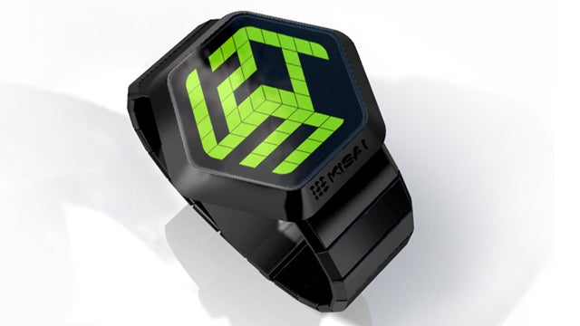 Tokyo Flash's Eye-Poppin' 3D Watch Isn't Actually 3D