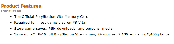 At Least One Gamer Is Pissed At Sony For A Small, But Misleading Vita Description