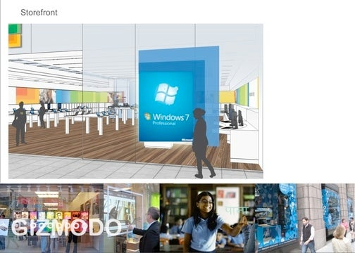 Leak: Inside the Microsoft Store With Wall-Sized Screens and the Answers Bar
