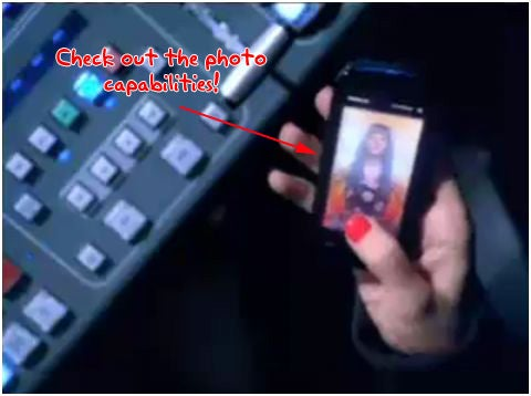 Nokia 5800 XpressMusic Pimped in Christina Aguilera Video