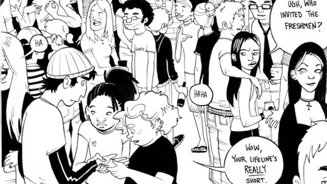 Sacred Heart is a webcomic tale of punks and murder, without adult supervision