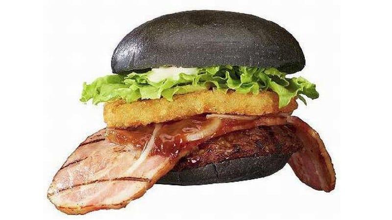 """Burger King Has a """"Black Ninja"""" Burger in Japan. No, Really."""