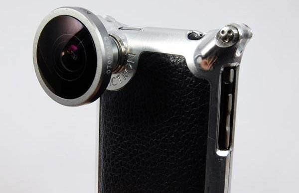 Factron iPhone Case Features Interchangeable Lenses