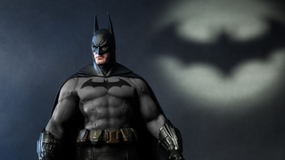 This Hot Toys Batman might be the burliest action figure ever