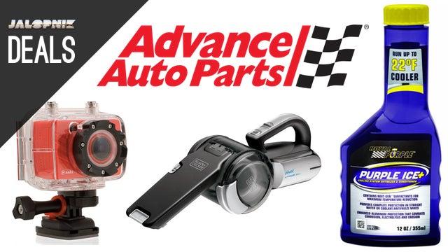 Deals: Coolant Additive, Car Vacuum, 35% off at Advance, Action Cam