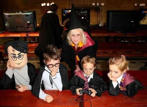 Amateur Harry Potters At Play, Only One Of Them Scary