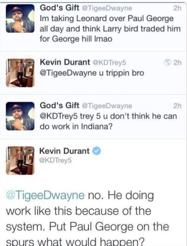 Kevin Durant Continues To Be Bad At Internet Feuds