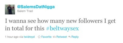 Beltway sex driver celebrates on Twitter after $22,000 judgment