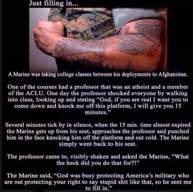 """Marine Todd"" Is an Awesomely Stupid Right-Wing Meme That Got Hijacked"