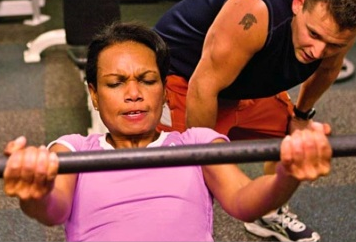 Um, Can Condi Bench More Than You?