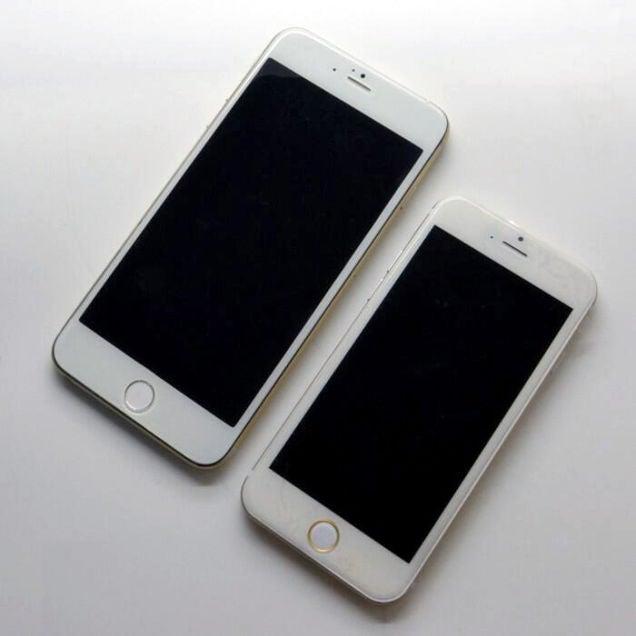 Így néz ki az új iPhone 6 kisebb és nagyobb modellje