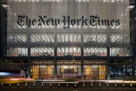 NYT Co. Sinks Further Into the Abyss