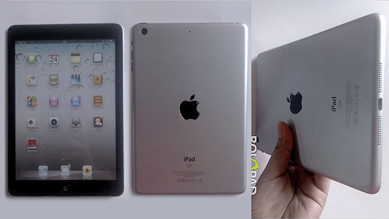 This Looks Like the First Photo of a Fully Working iPad Mini