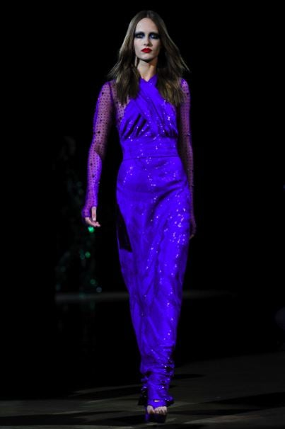 Givenchy's Couture Flight Of Gothic-Iberian Fancy