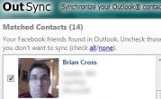Sync Facebook and Outlook Contact Photos with OutSync