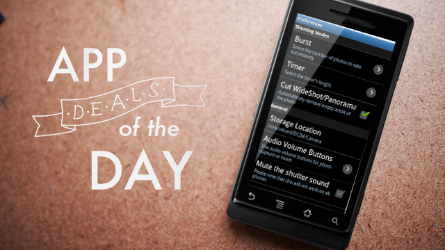 Daily App Deals: Get ProCapture for Android for 99¢ in Today's App Deals