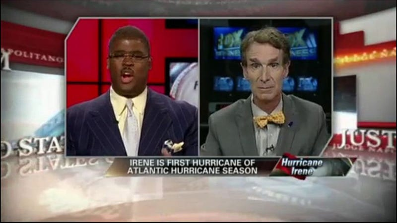Watch Bill Nye Try to Explain Irene and Climate Change on Fox Business