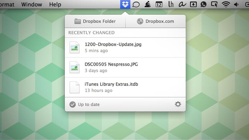 Dropbox's Latest Desktop Client Provides a Notification Panel for Fast Access to Recently Synced Files
