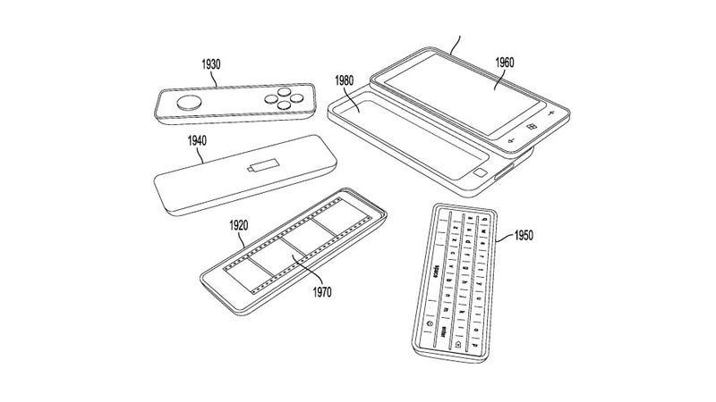Microsoft's Latest Patents Show a Smartphone Future That's Modular