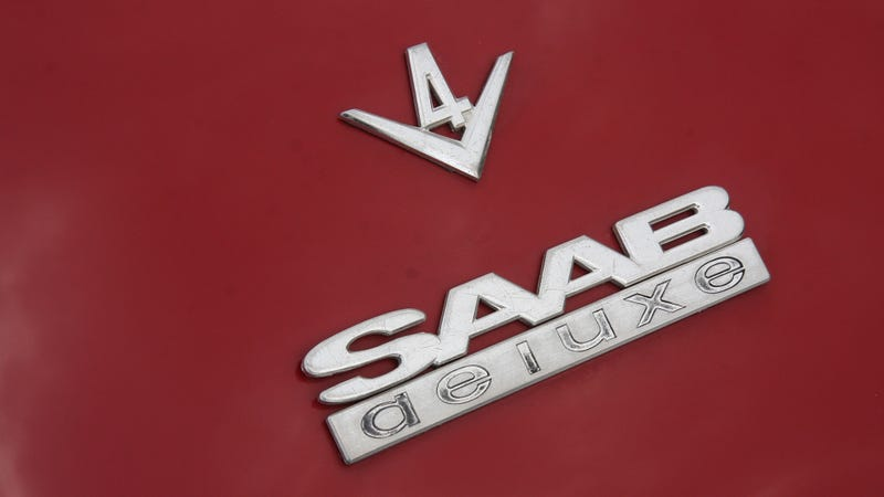 A Saab 96 V4 Loves To Play In The Mud