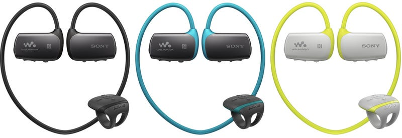 sony includes a ring remote with its new underwater headphones. Black Bedroom Furniture Sets. Home Design Ideas