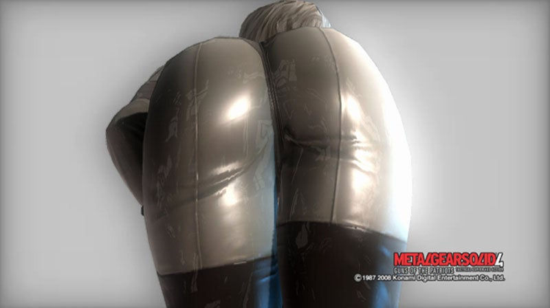 Hey! These Spoiler Metal Gear Solid 4 Screens Are NSFW