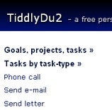 TiddlyDu2 Manages Your Tasks on the Go