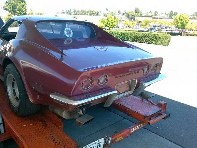 For $8,700, This Project Vette Wears Garanimals