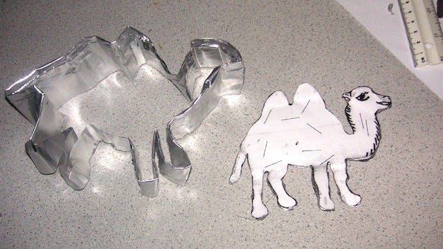 Make Your Own Personalized Cookie Cutters from a Simple Foil Pan
