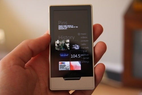 Zune HD Review Gallery UI