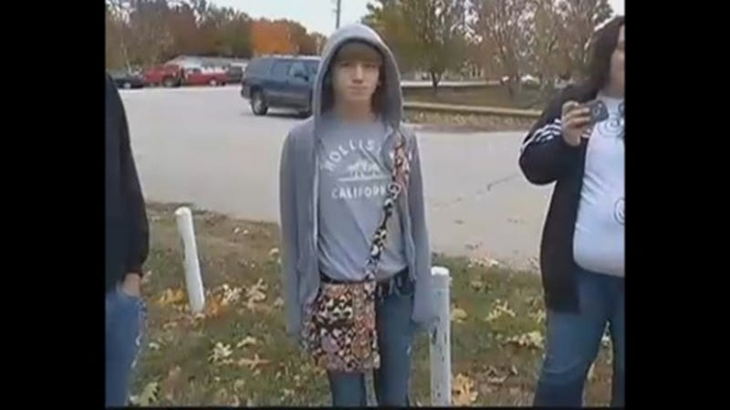 Boy Suspended for Wearing Purse to School Because EVERYTHING IS FUCKED