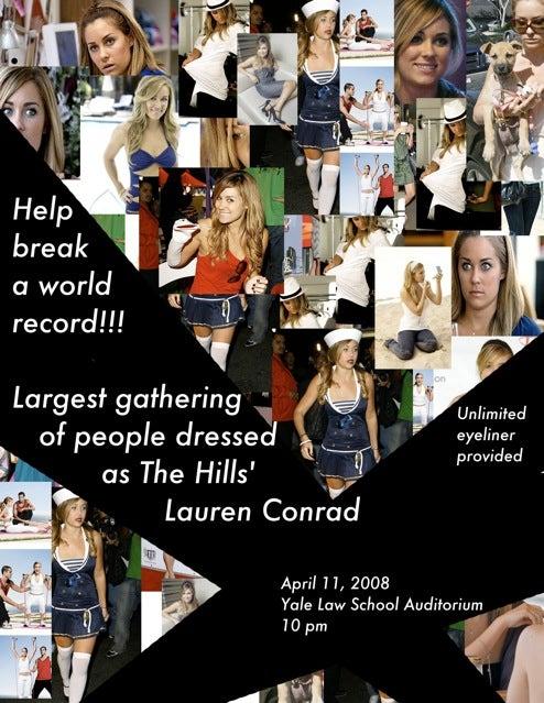 Everybody's Dressed Like Lauren Conrad!
