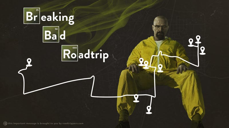 "Tread Lightly to these ""Breaking Bad"" Filming Locations"