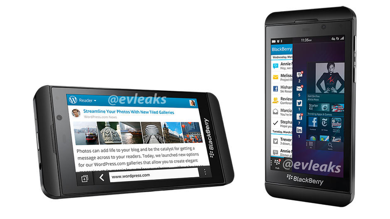 Purported Press Images of Blackberry Z10 Leaked