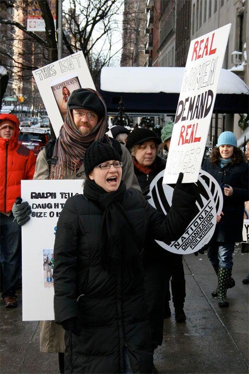 Women Protest Ralph Lauren's Ridiculous Photoshop
