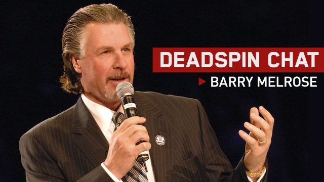 Chat With ESPN NHL Analyst And Former Coach Barry Melrose [UPDATE: THE CHAT HAS BEEN CANCELED BECAUSE WE DON'T KNOW WHERE BARRY MELROSE IS]