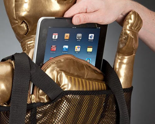 C-3PO Backpack Makes for World's Most Obnoxious iPad Case