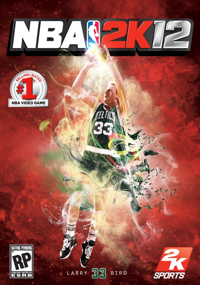 NBA 2K12 Cover Adds Magic and Bird to Michael Jordan