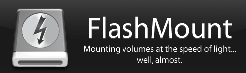 FlashMount Speeds Up Software Installation