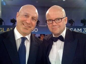 Top Chef's Toby Young's Report from inside the Emmys